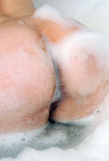Margo Purz Soaps Up Her Perky Breasts And Sexy Ass