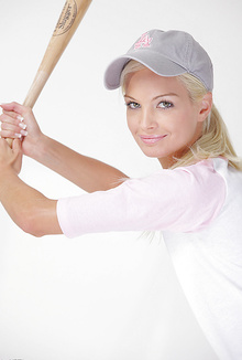 Francesca naughty Baseball Babe