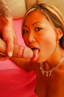 Horny asian babe Tina loves to gets hard fuck