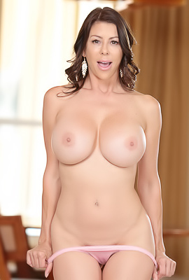 Busty Mom Alexis Fawx Rides Hard Cock