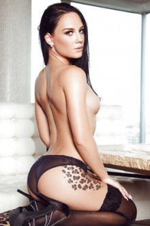 Meet sexy Playboy model Meghan Leopard from Canada