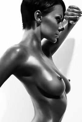 Sensual Black and white Nude Art